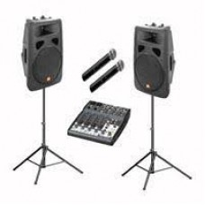 Sound system for parties