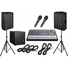 Sound system for corporate events