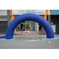 20 ft blue color inflatable arch for sale
