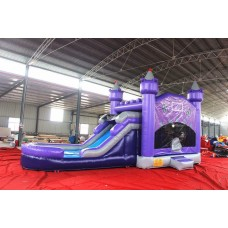 Inflatable bounching game Purple castle