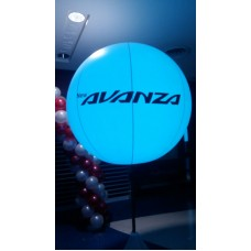 RGB LED Light Stand Balloon