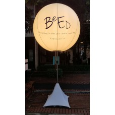 Outdoor Lighted Stand Balloon Rental