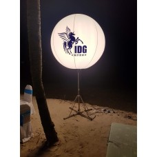 Stand Light Balloon with branding